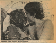 Scene from Satyam Shivam Sundaram, 1978